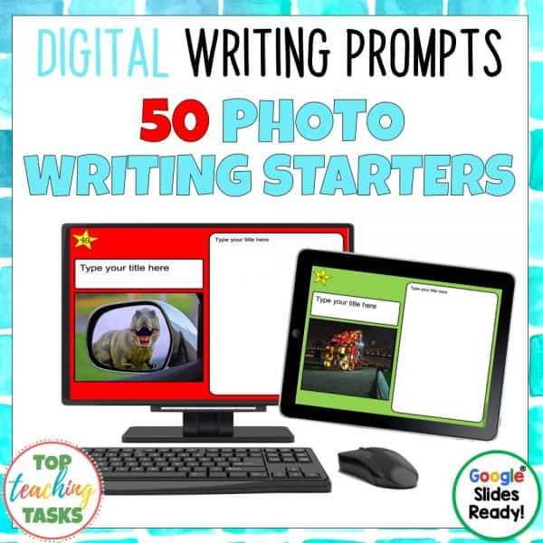 Photo Digital Writing Prompts