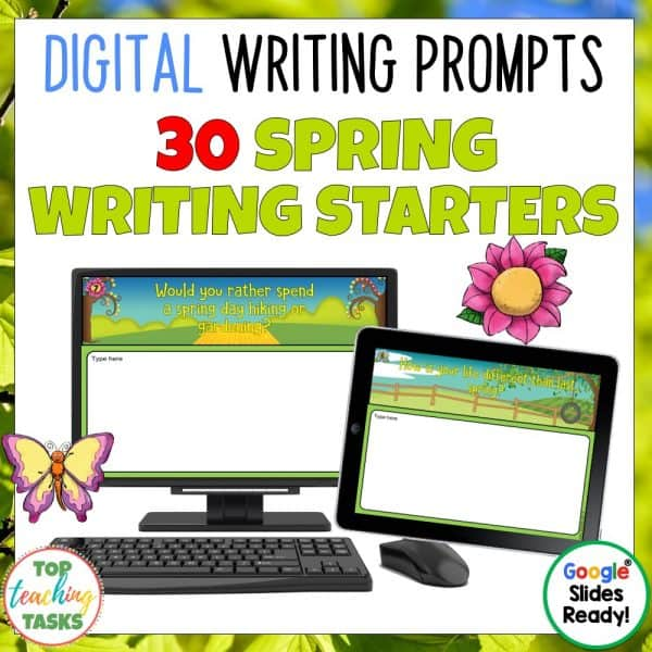 Daily Writing Prompts Spring