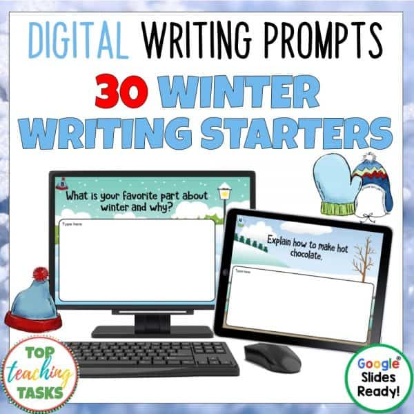 Daily Writing Prompts Winter