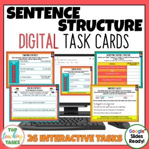 Digital Sentence Structure