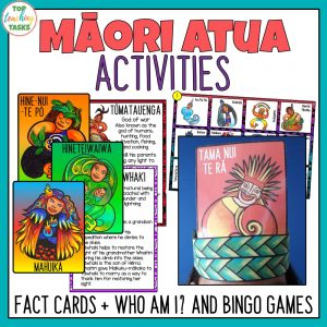 Maori Gods Activities