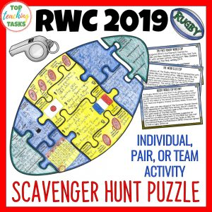Rugby World Cup Puzzle