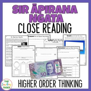 Sir Apirana Ngata Reading Comprehension