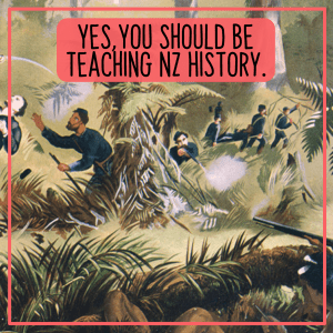 Teaching NZ History