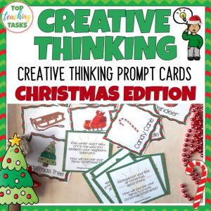 Christmas Creative Thinking Cards