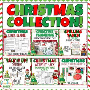 Christmas Literacy Activities Bundle