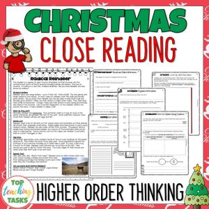 Christmas Reading Comprehension Bundle