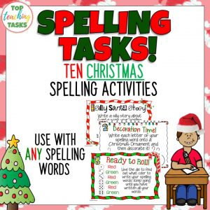 Christmas Spelling Activity Pack