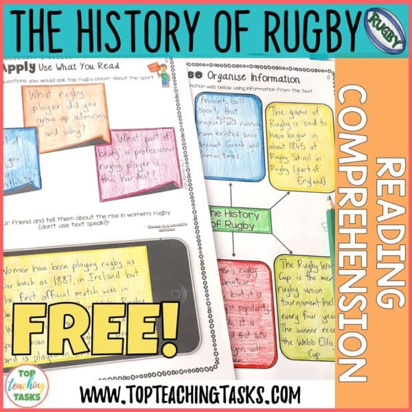 History of Rugby Freebie
