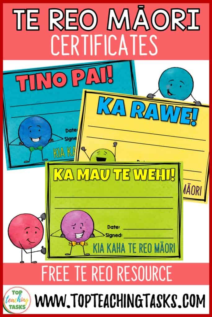 What better way to celebrate Māori Language Week than with these great FREE te reo Māori certificates. Tino Pai means excellent, Ka Rawe means awesome, and ka mau te wehi means amazing! Have an amazing Maori Language Week!