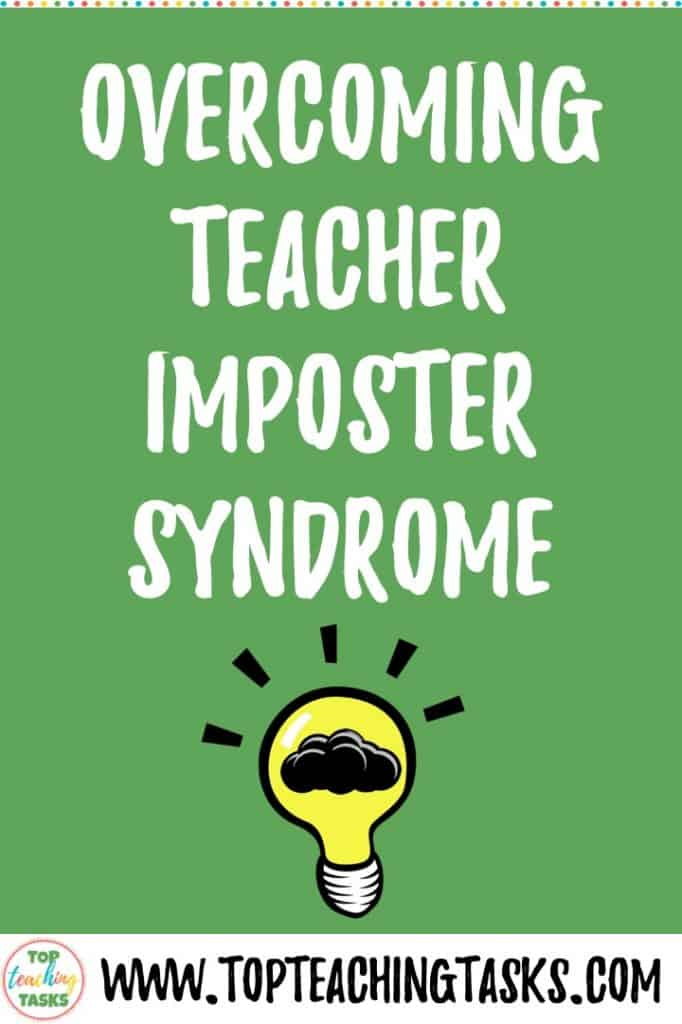A blog post looking at teacher imposter syndrome and how to prevent it and live with it. Many teachers feel insecure, especially as beginning teachers, and it is important to ask for help, celebrate wins and cut yourself some slack!