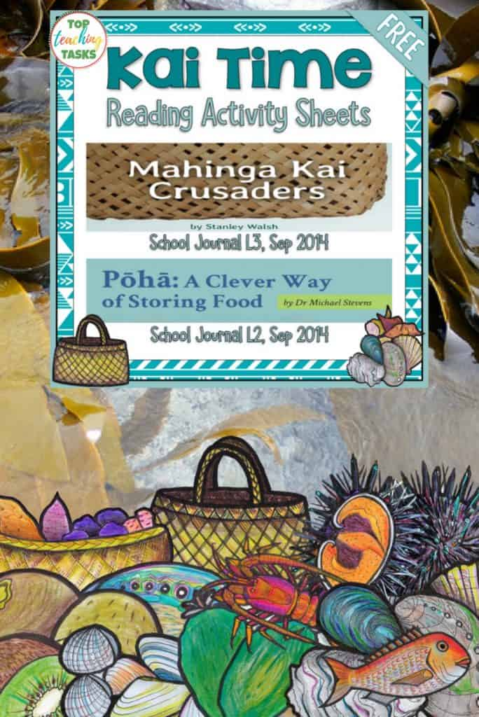 FREE Māori Culture Reading Comprehension Activities | Maori Language Week. This Maori Language Week, highlight te reo and the Maori culture with this FREE Māori Culture Reading Comprehension Activities. This reading resource includes engaging reading comprehension activities featuring higher-order thinking activities to use with the following NZ School Journal texts: – Pōhā: A Clever Way of Storing Food – School Journal Level 2,
