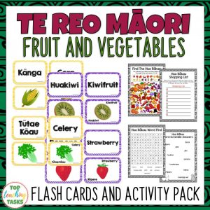 Te Reo Fruit and Vegetables
