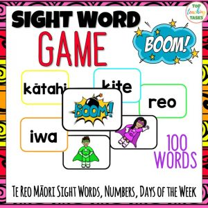 Te Reo Sight Words BOOM