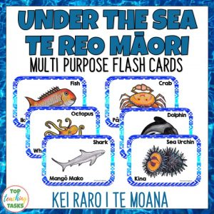 Te Reo Under the Sea