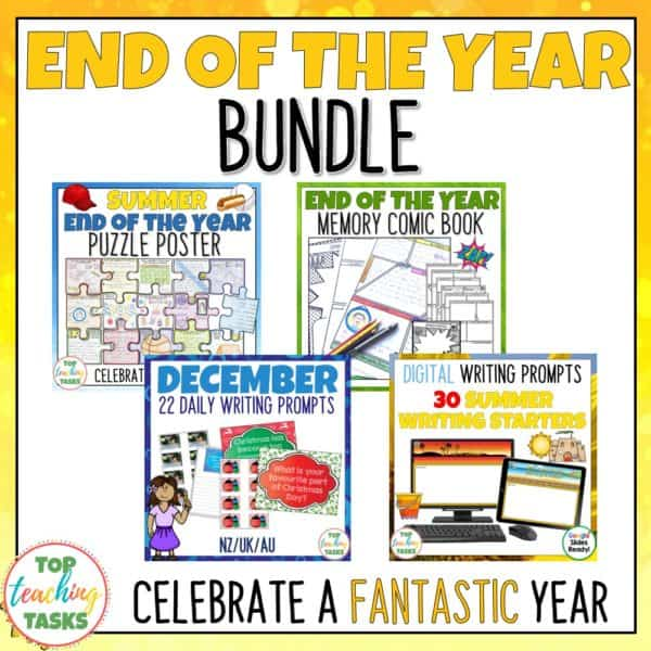 End of the Year Activities Bundle