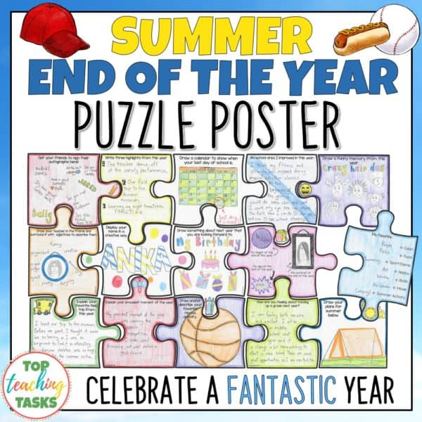 End of the Year Puzzle