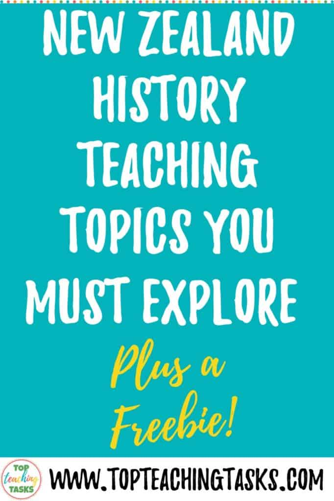 If you are looking for New Zealand History teaching resources, here are four topics you definitely need to cover. This blog post explains how and why you should explorer, with critical thinking, the Treaty of Waitangi and Waitangi Day, New Zealand Explorers, The New Zealand Land Wars and Parihaka.
