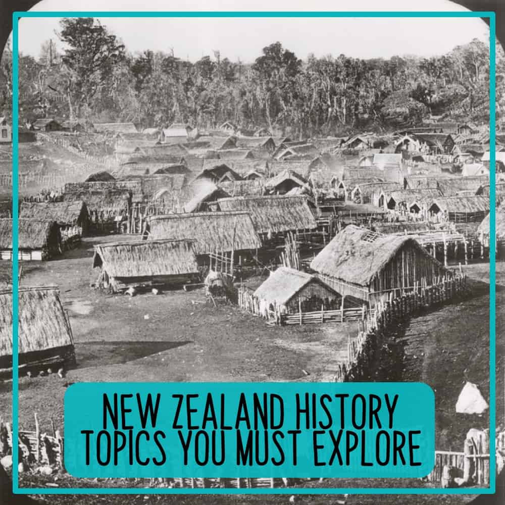 New Zealand history teaching