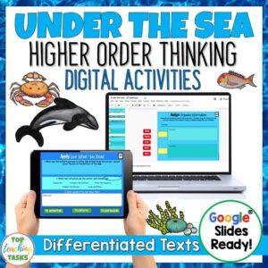 Under the sea digital reading