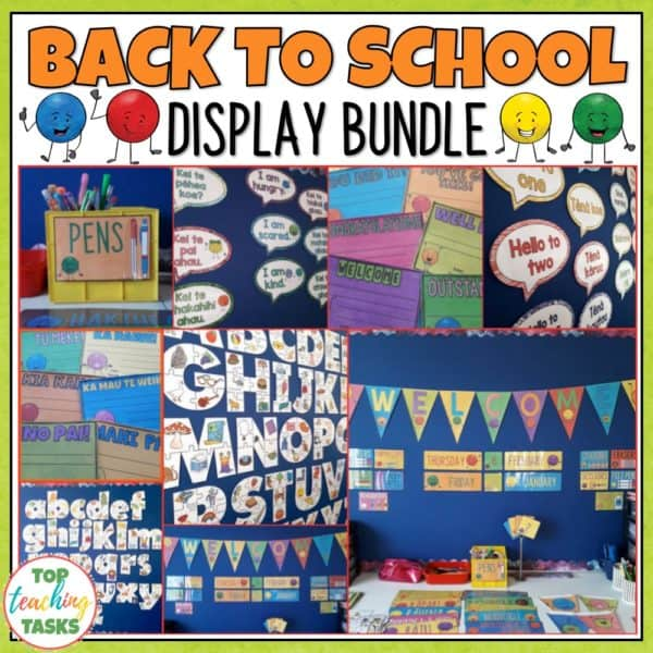 Back to School Classroom Decor