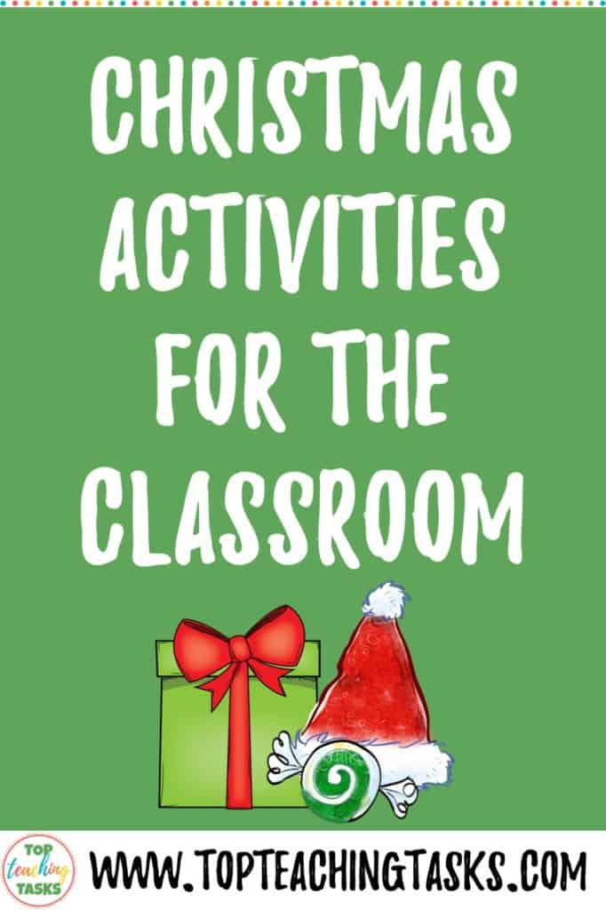 Christmas Activities in the Classroom. This blog post looks at some fun and educational activities to bring the festive season alive in your classroom. Perfect for those in grade 3, grade 4, and grade 5. Christmas crafts