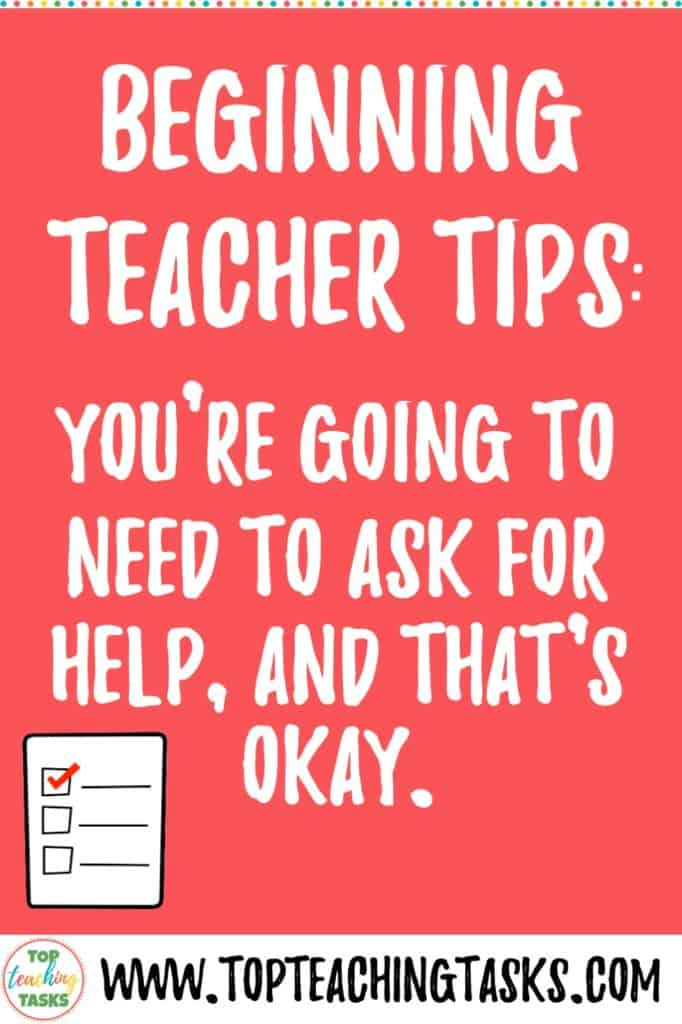 Struggling with feelings of inadequacy as a classroom teacher.
