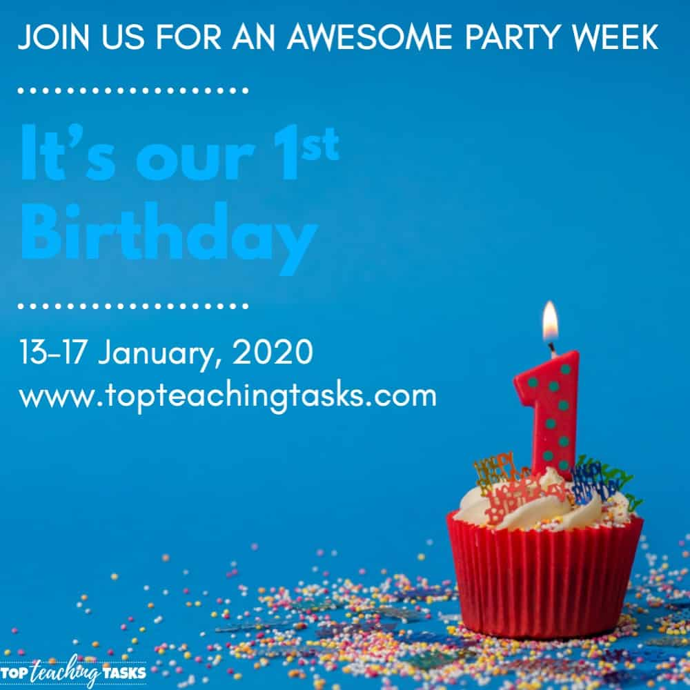Our First Birthday Party Week