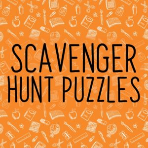 Scavenger Hunt Resources