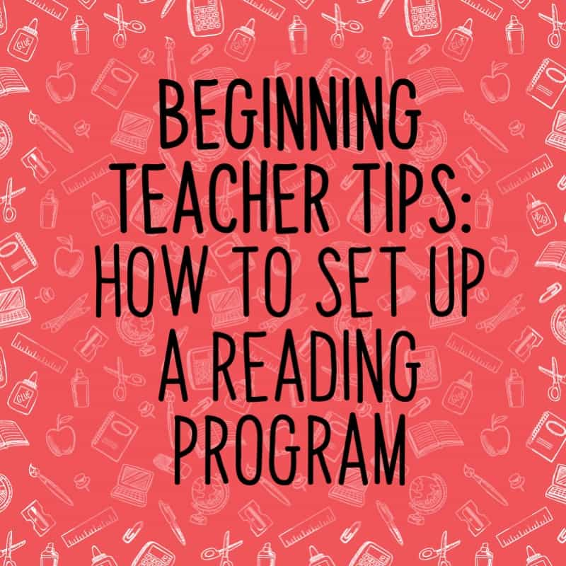 Setting up a reading program