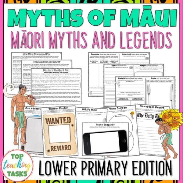 Māui Myths Lower Primary