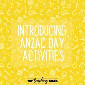 Anzac Day Activity Ideas