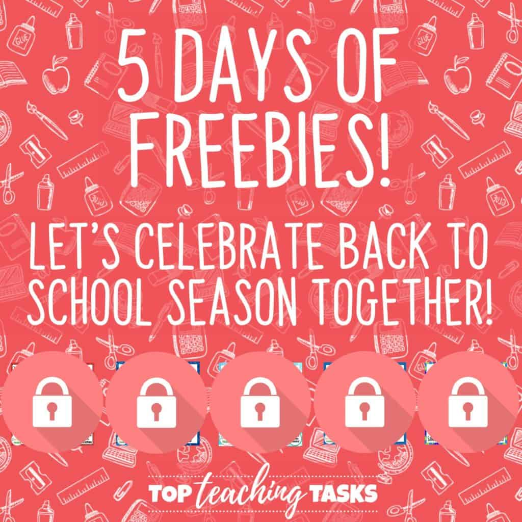 5 days of freebies
