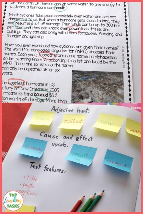 Shared reading in primary