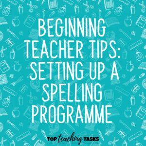 Setting Up A Spelling Programme