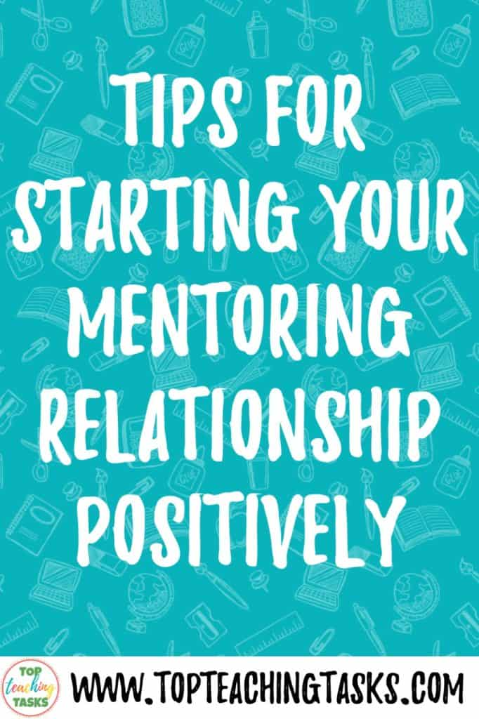 The Mentoring Relationship. In this guest blogpost, Sarah Tohill explores the mentoring relationship that all beginning teachers will experience during their first two years in the classroom. There are great tips and advice for both beginning teachers and their mentors.