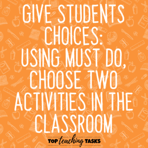 Give Students Choices