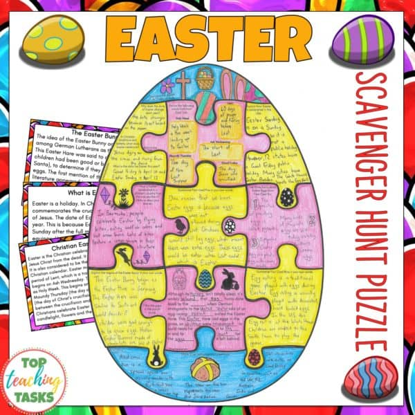Easter Reading Comprehension Activity