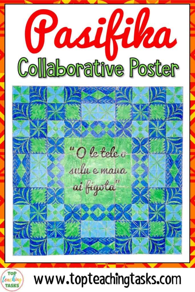 Pasifika Collaborative Poster. Talofa! Mālō e lelei! Kia Orana! Fakaalofa atu! Bring the vibrancy of the Pacific Islands into your classroom while encouraging collaboration and teamwork with this fun and interactive Growth Mindset Collaborative Poster. This poster features authentic Polynesian designs from Samoa, Tonga, the Cook Islands, Niue and Tokelau. It would be a great back to school resource to build a culture of collaboration, teamwork, and cultural diversity in your classroom.