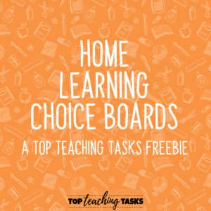 Home Learning Choice Boards