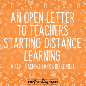 An Open Letter to Teachers
