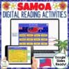 Samoa Digital Reading activity