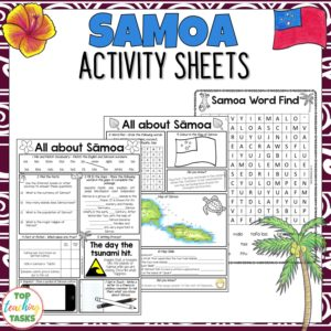Samoa Activity Sheets