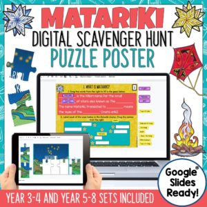 Matariki Digital Scavenger Hunt