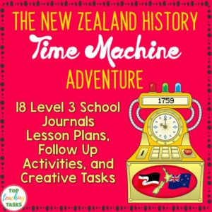 New Zealand History Time Machine Adventure