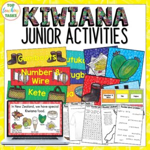 Kiwiana Junior Activities