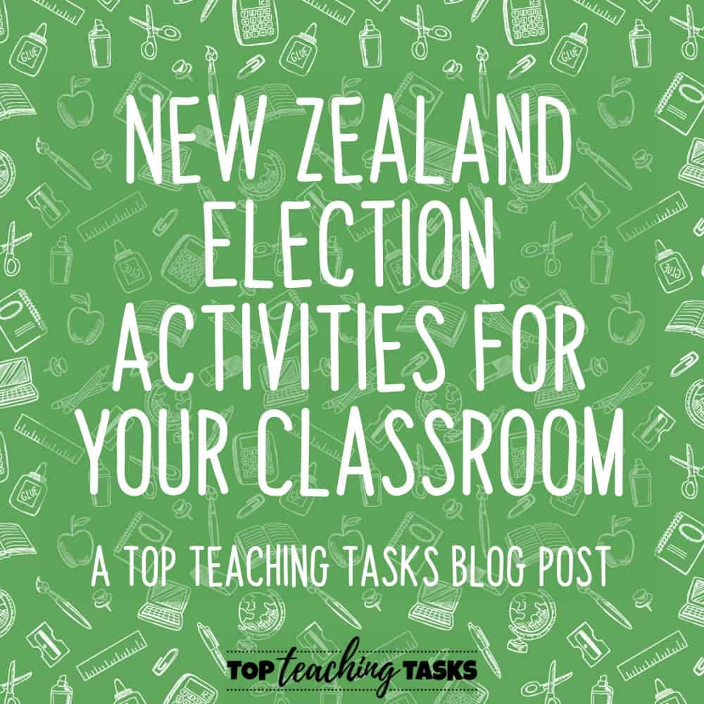 New Zealand Election Activities for your Classroom