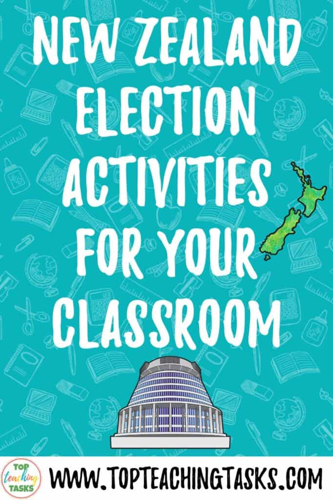 New Zealand Election Activities for your Classroom. Enjoy this blog post sharing some New Zealand Election Activities for use in your classroom. Civics education is so underplayed in the New Zealand primary and intermediate school system. This is a pity as I think it can be a very interesting topic! Your upper primary and intermediate school students will enjoy learning more about New Zealand politics.