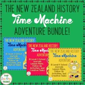 New Zealand History Reading Bundle