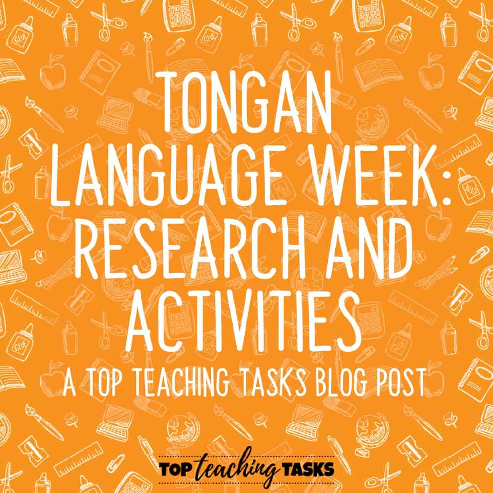 Tongan Language Week 1
